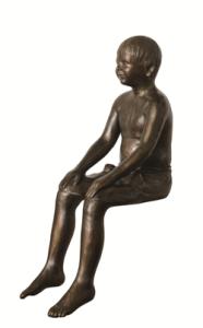 sitting boy 1